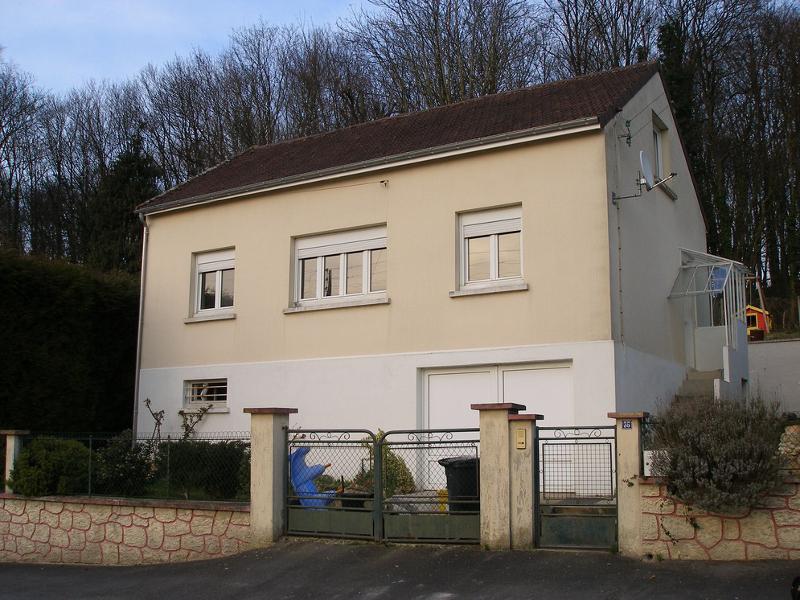 Pavillon avant travaux de ravalement et d'isolation extérieure à Liancourt, Oise
