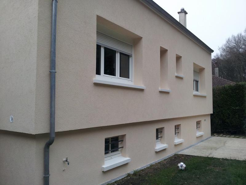 Après travaux côté jardin à Liancourt, Oise