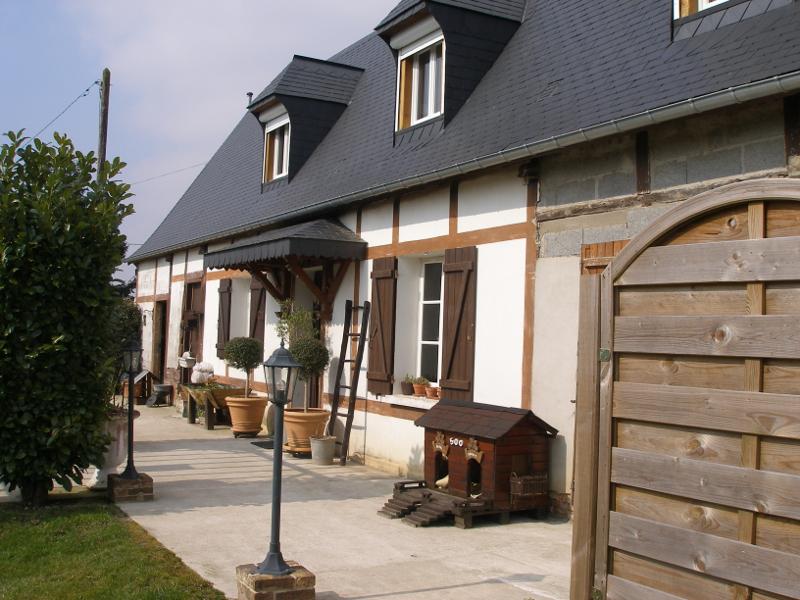 Avant travaux de rénovation longère à Gournay-en-Bray, Seine-Maritime