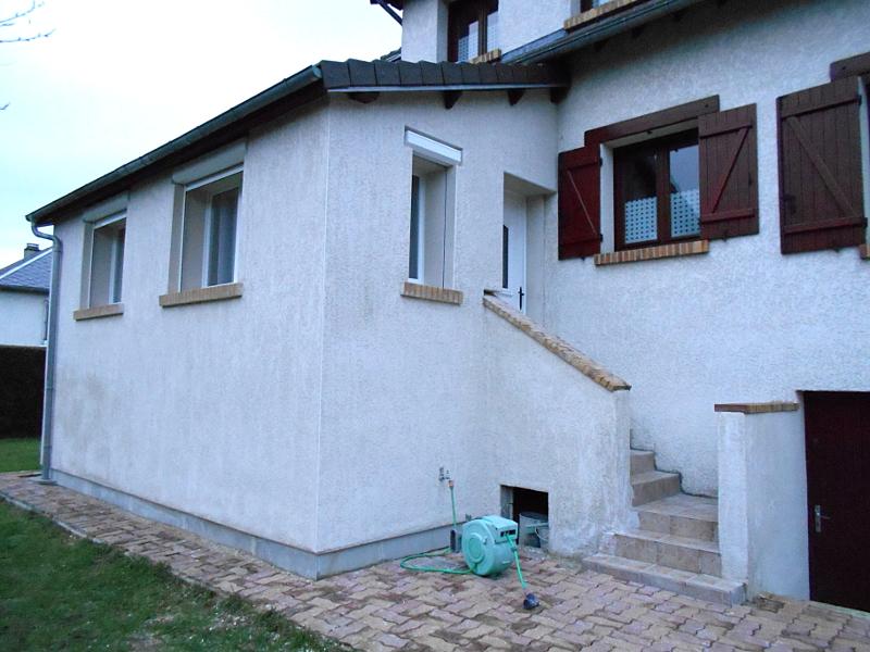 Après travaux isolation extension  Milly sur Thérain, Oise